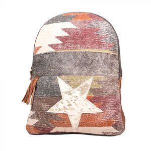 New Myra Multi Color Superior Backpack Bag
